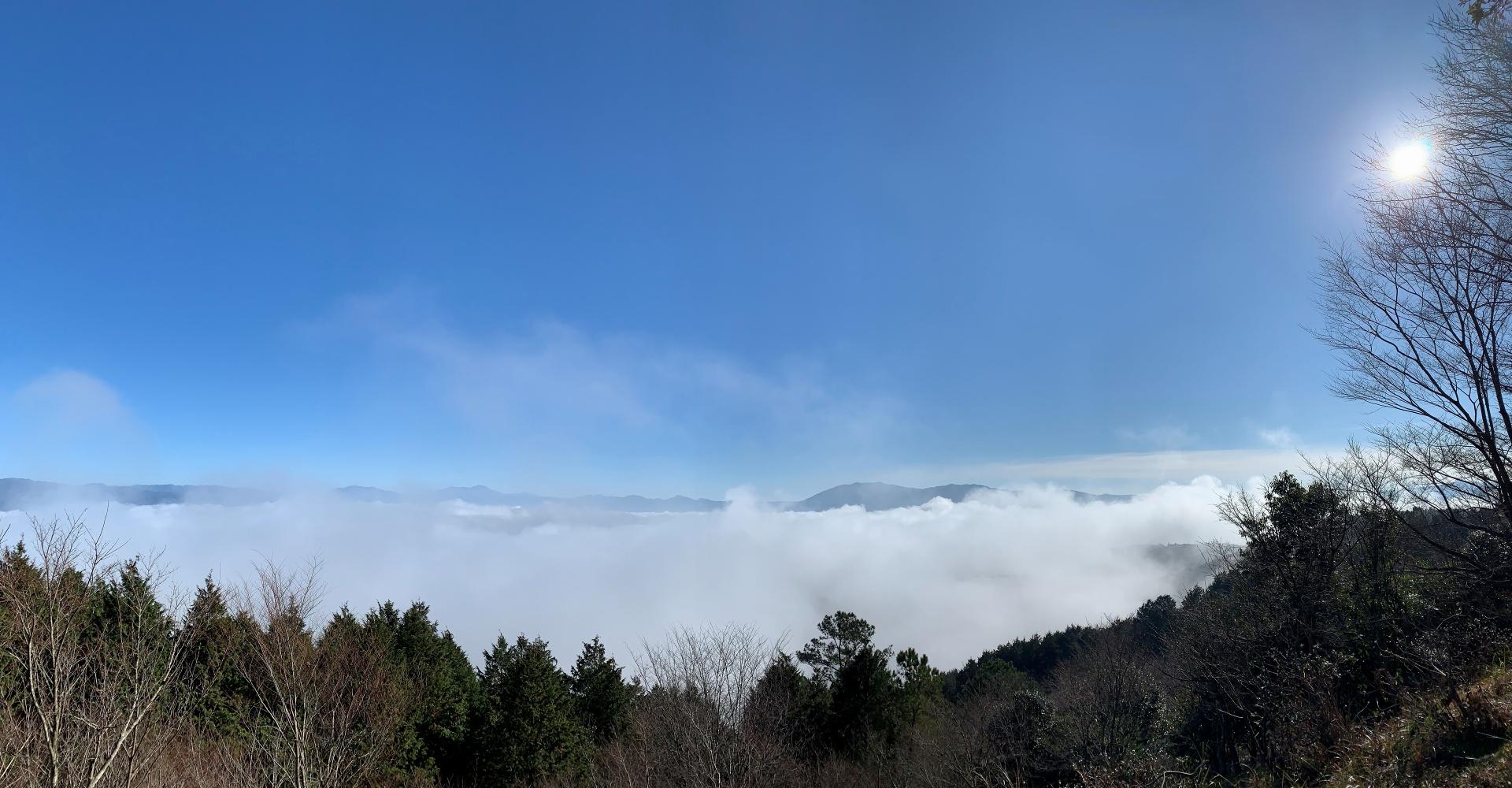 紅取山からみた雲海